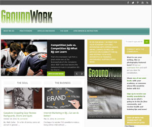 GroundWork BJJ WordPress theme