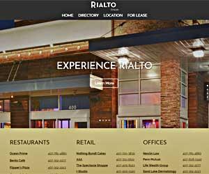 Rialto Orlando homepage theme